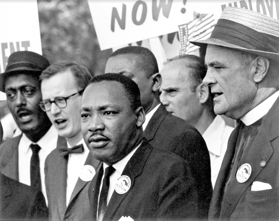 FBI: Luther King vio una violación y no la detuvo