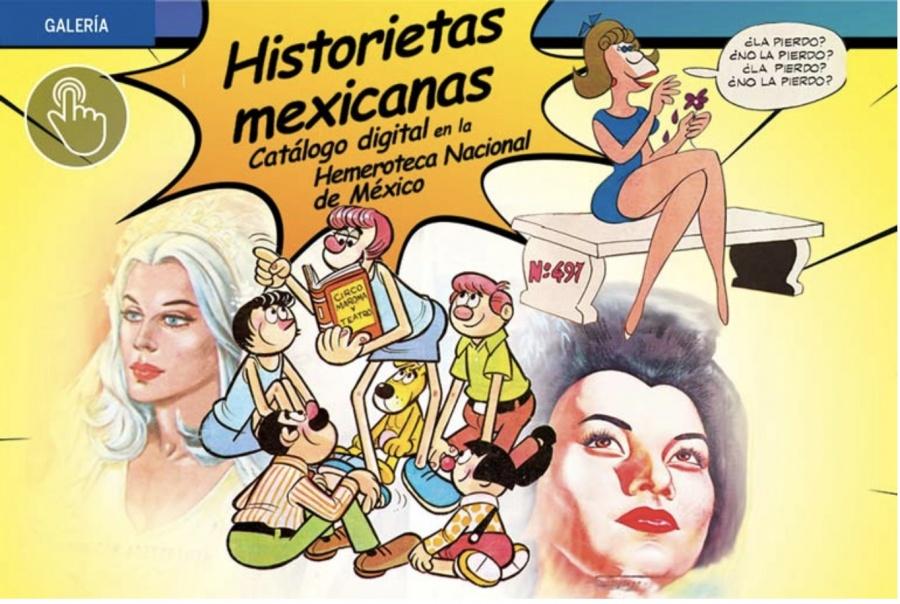 Presentan catálogo digital de historietas mexicanas