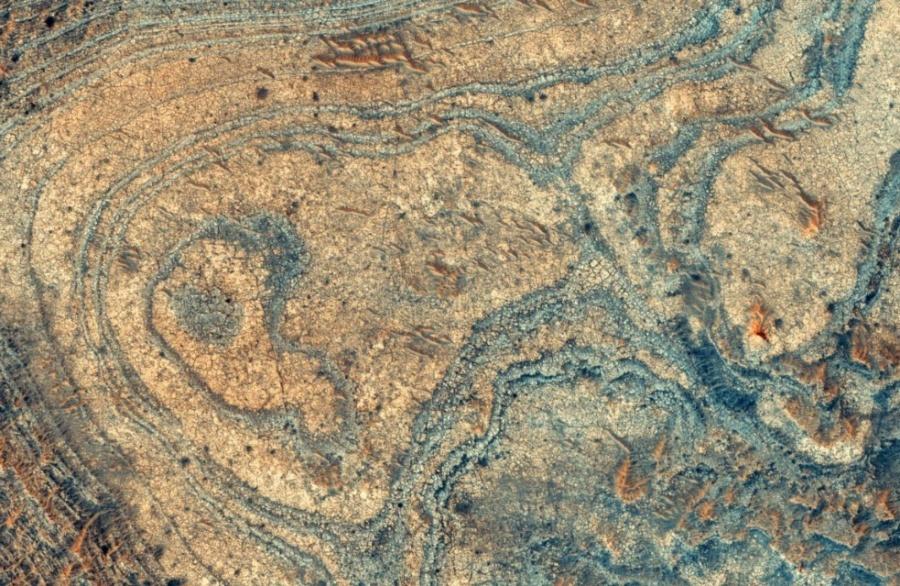 Revelan sorprendentes datos sobre explosiones volcánicas en Marte