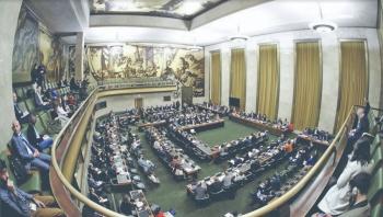 EU y aliados dejan sesión de la ONU presidida por Venezuela
