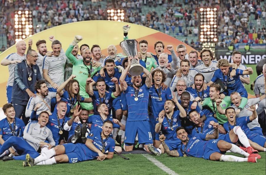 Chelsea aplasta al Arsenal; conquista su segundo Título UEFA