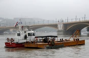 Naufragio en el Danubio deja al menos siete muertos y 19 desaparecidos