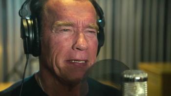 Arnold Schwarzeneggerse convierte en rapero