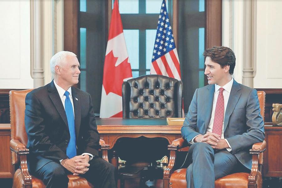 Pence busca impulsar el nuevo acuerdo con Canadá, EU y México