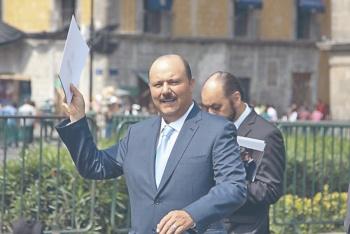 Cumplen la sentencia de TEPJF; expulsan a Duarte