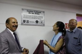 Sheinbaum inaugura centro cultural en Iztacalco