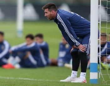 Leo Messi busca consagración con la albiceleste antes del retiro