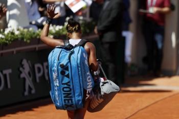 Naomi Osaka, eliminada en tercera ronda del Roland Garros