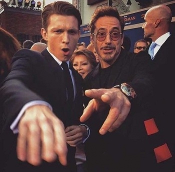 Robert Downey Jr. conmocionó a sus fans por mensaje a Tom Holland