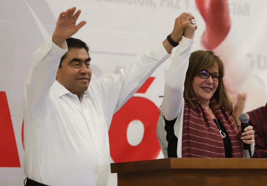 Agradezco a quienes votaron por la reconciliación en Puebla: Barbosa