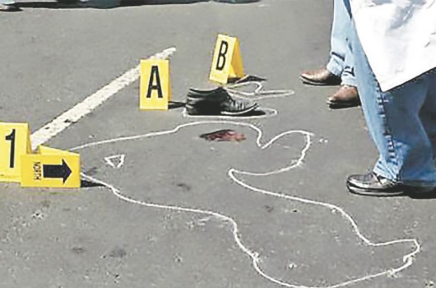 Repunta el homicidio doloso, 4.4% más que abril
