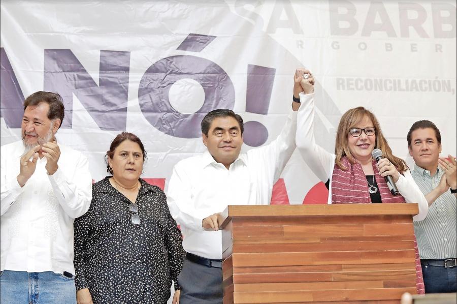 Morena le quita gobiernos al PAN; se queda con BC y Puebla
