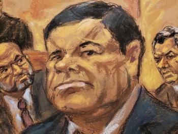 Defensa de 'El Chapo' descarta riesgo de fuga