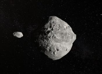 VIDEO: Detectan un asteroide doble que pasó muy cerca de la Tierra