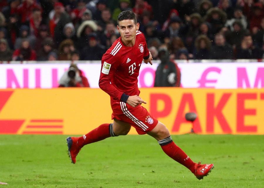 Oficial: James Rodríguez se despide del Bayern Munich
