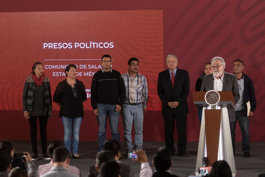 Anuncian liberación de 6 presos políticos