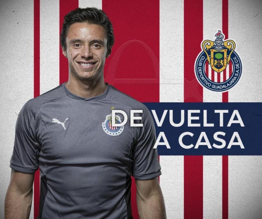 Oficial: José Antonio Rodríguez, regresa a Chivas