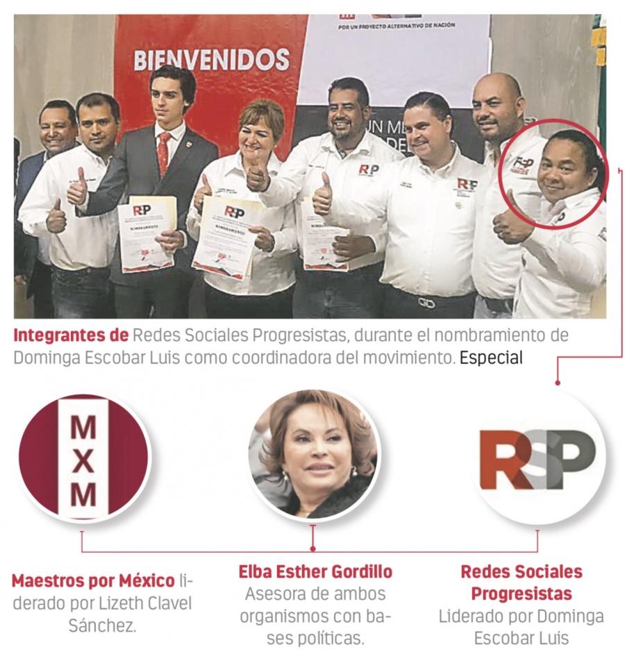 Pozolera ahora es líder de futuro partido de Gordillo