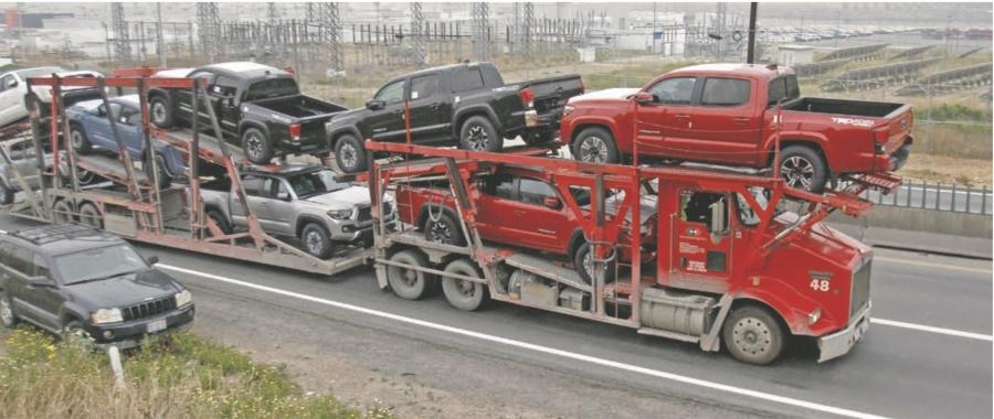Caen ventas de autos 5.4% en cinco meses
