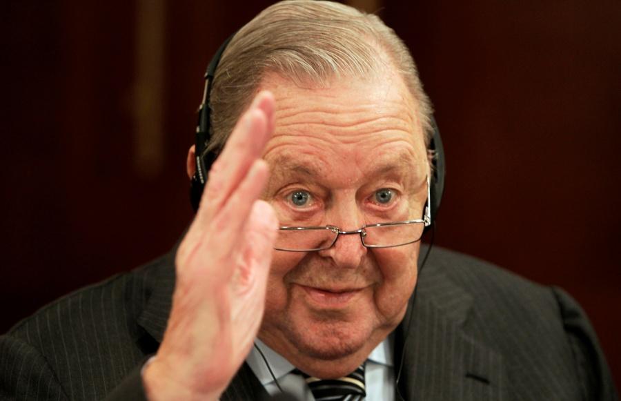Fallece Lennart Johansson, creador de la Champions League