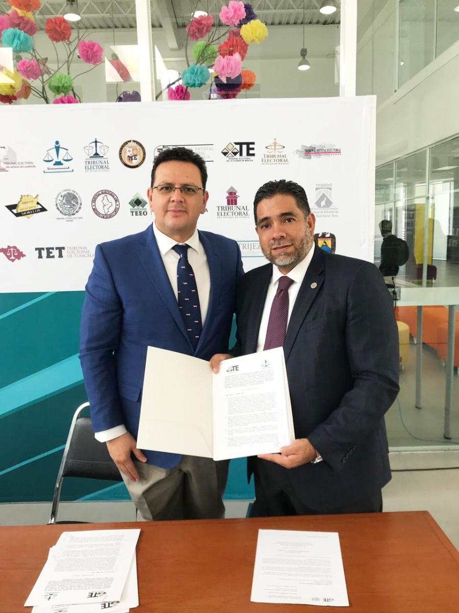TECDMX firma convenio para fortalecer la justicia electoral