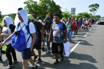 Es impedido el paso a centroamericanos en Chiapas