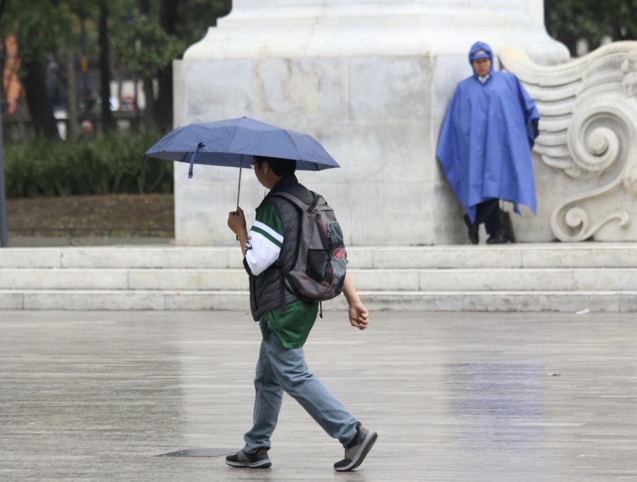 Activan Alerta Amarilla por lluvias en siete alcaldías de CDMX