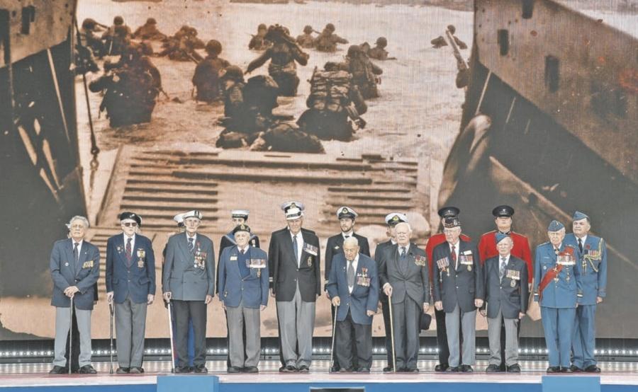 Occidente exhibe falsa unidad en el Aniversario del Día D