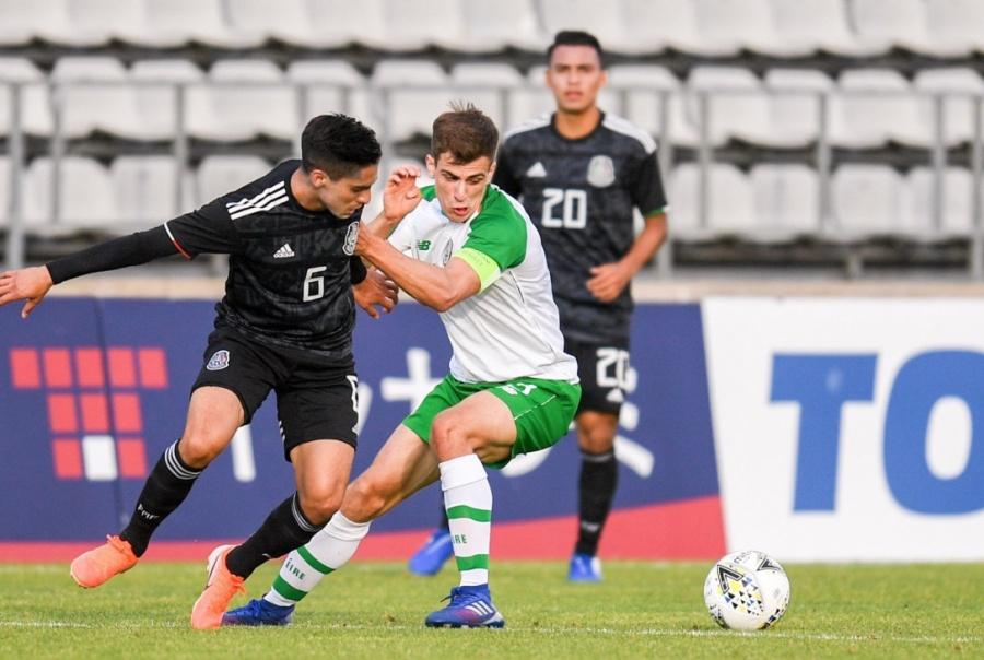 México empata sin goles ante Irlanda en Toulon