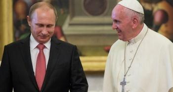 El Papa se reunirá con Vladimir Putin por tercera ocasión