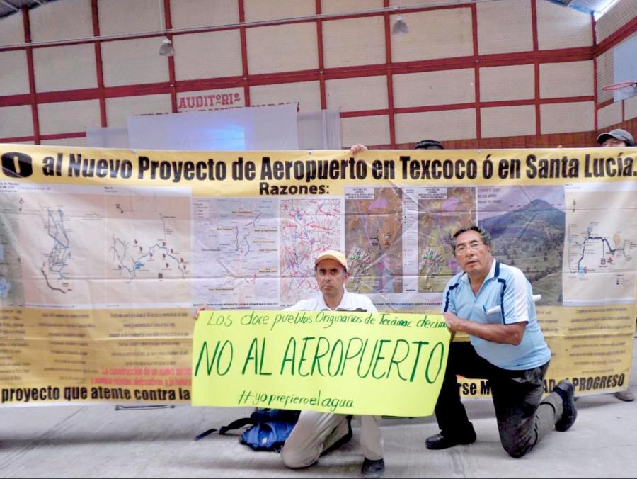 Excluyen de consulta de Santa Lucía a seis pueblos
