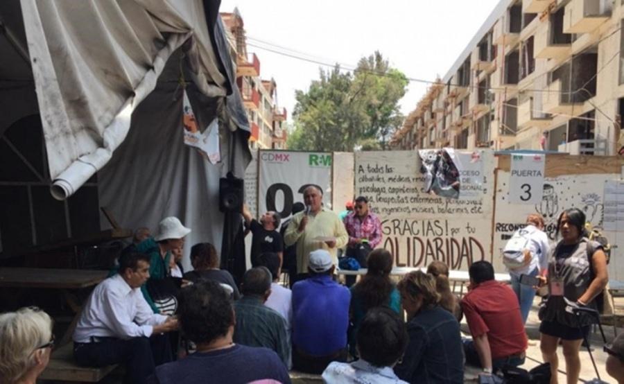 Reconstrucción del Multifamiliar Tlalpan podría concluir en el mes de julio
