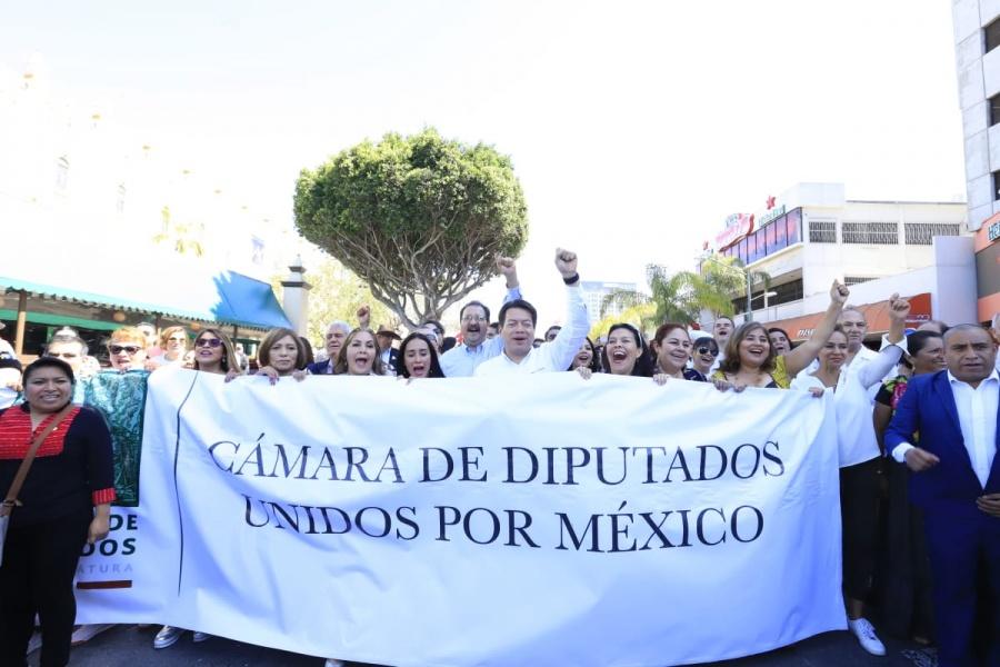 Morena respalda las acciones de Dignidad y Amistad de López Obrador