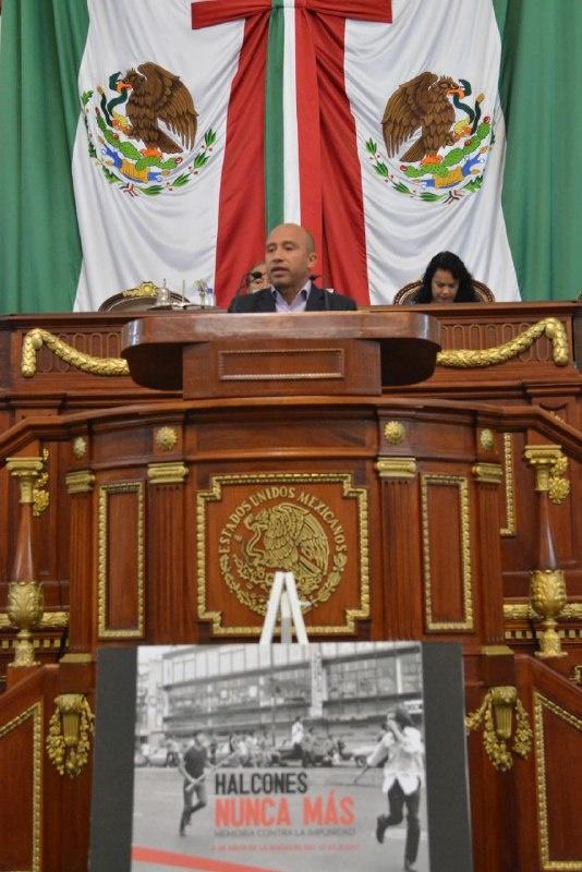 """Reconoce Congreso CDMX a víctimas del """"halconazo"""""""