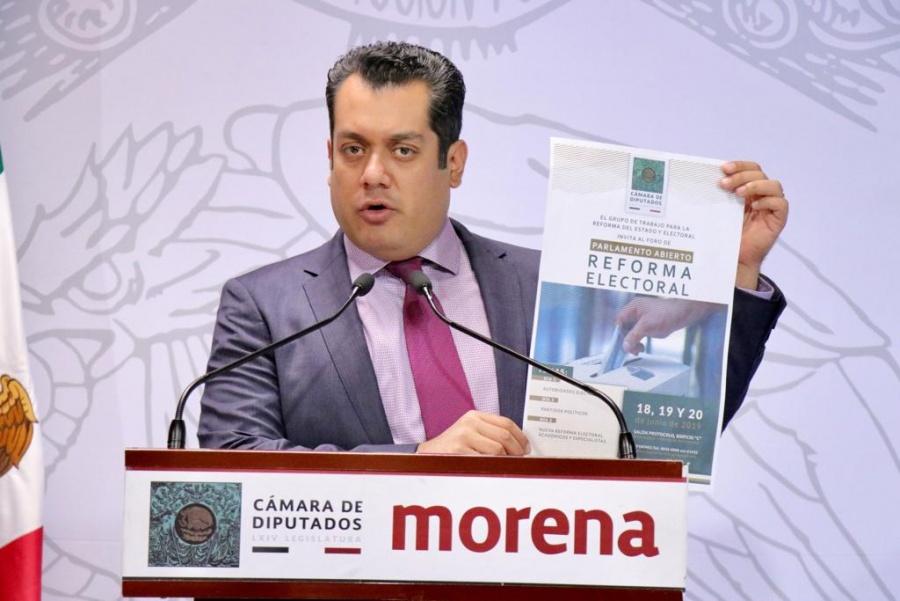 En las Reformas del Estado y Electoral se busca optimizar el uso de los recursos: Gutiérrez Luna
