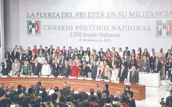 PRI comienza el proceso para renovar la Dirigencia Nacional