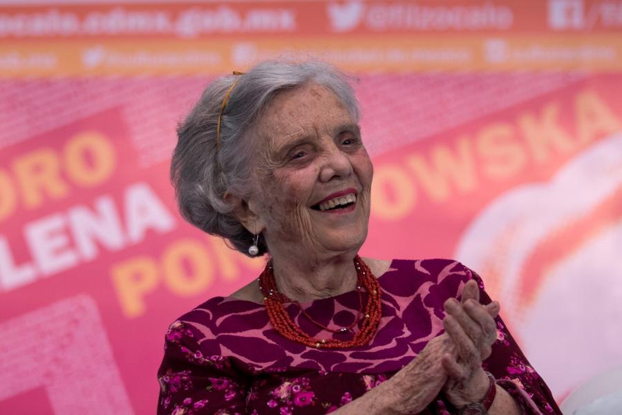 Tlalpan anuncia visita de Elena Poniatowska