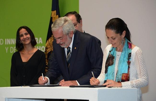 Firman convenio de colaboración Gobierno Capitalino y UNAM