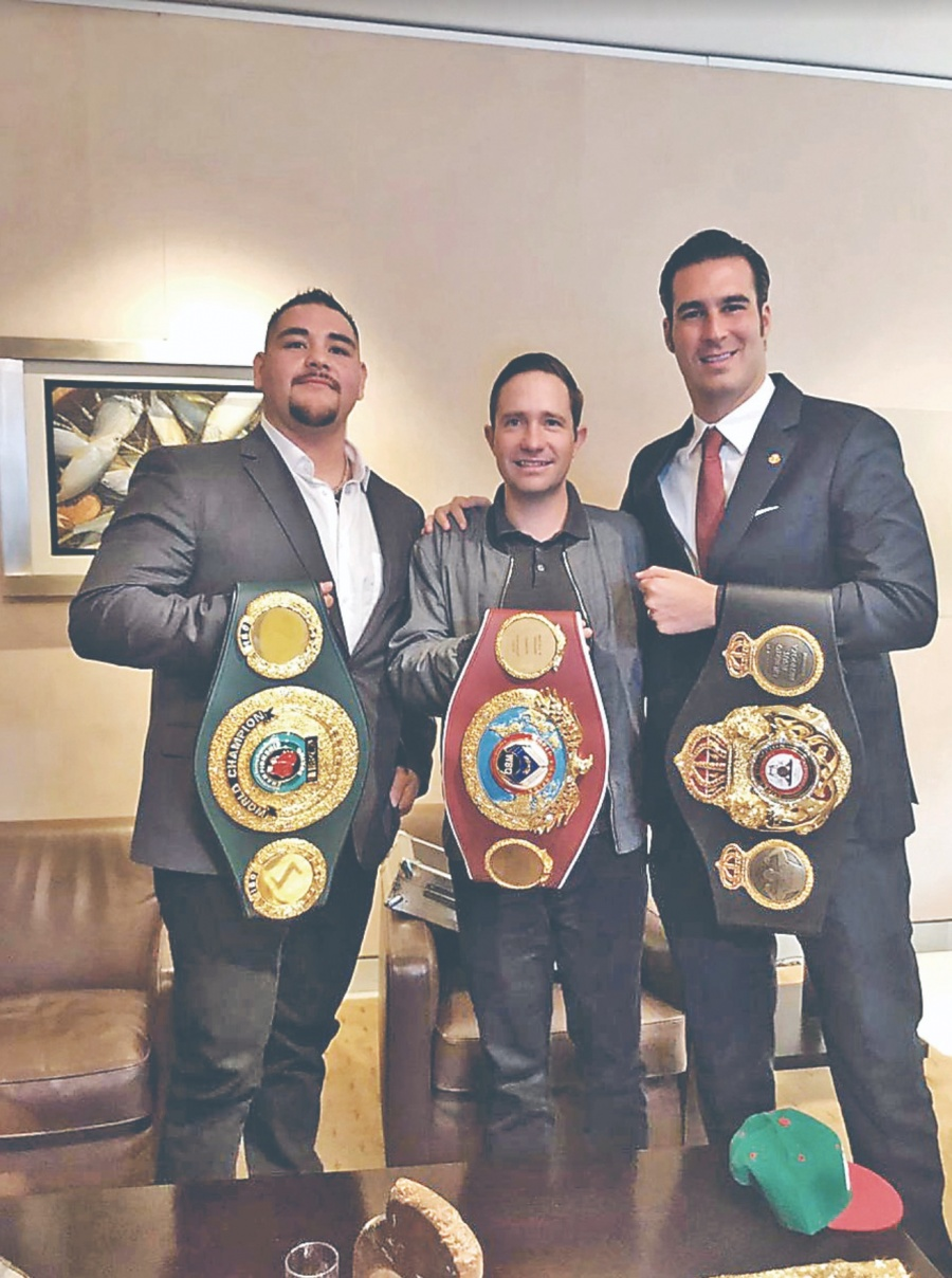 Andy Ruiz, busca extender legado con título del CMB