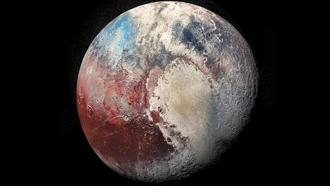 La NASA descubre posibles evidencias de vida en Plutón