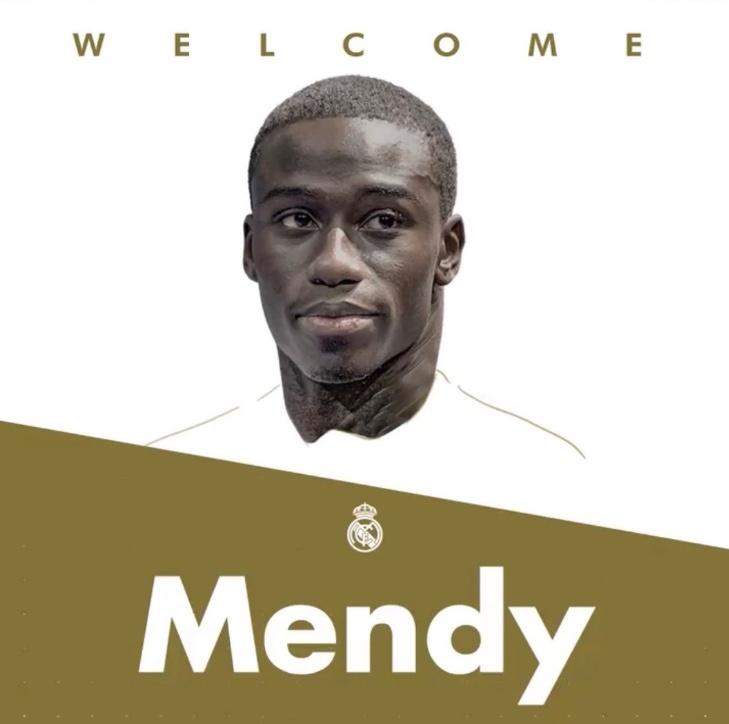 Oficial: Ferland Mendy, ficha por el Real Madrid
