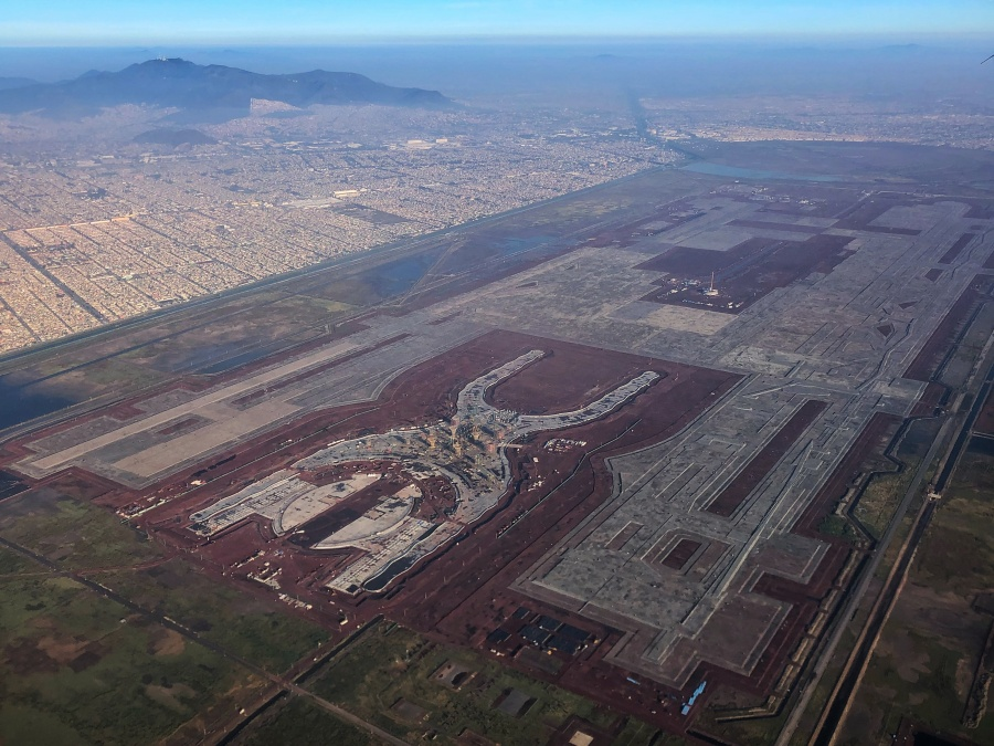 Ordena tribunal mantener obra del NAIM en Texcoco