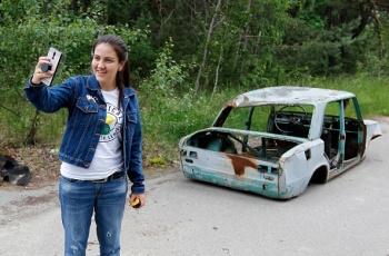 Selfies de turistas en Chernobyl causan indignación