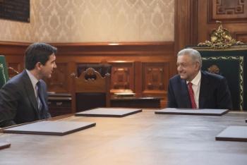 Bancomer anuncia inversión millonaria en reunión con AMLO