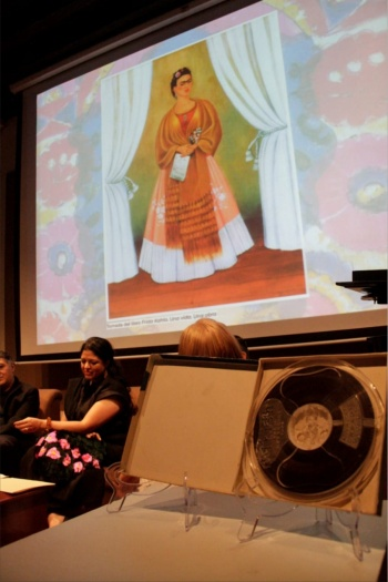 Revelan supuesta voz de Frida Kahlo