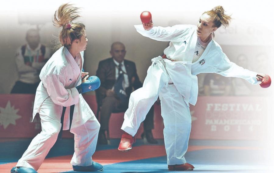 Élite del karate nacional se prepara en China; se afinan para el verano