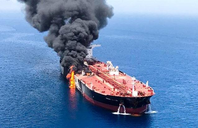 Ataque a buques en Omán, disparan precio del petróleo