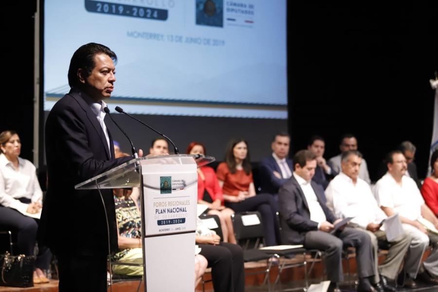 PND impulsará nuevo modelo económico: Delgado Carrillo