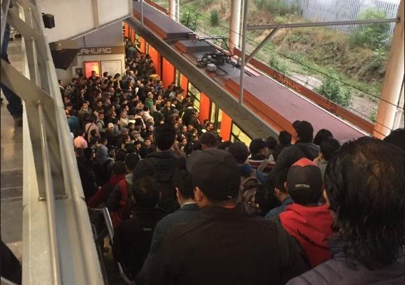 Saturada, Línea 12 del Metro tras falla en sistema de pilotaje