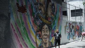 IECM reconoce a jóvenes grafiteros por obras sobre inclusión social